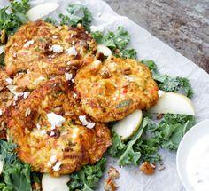 zucchinibiffar_med_fetaost4 Raw Food Recipes, Vegetable Recipes, New Recipes, Healthy Recipes, Swedish Recipes, Recipies, Vegetarian Cooking, Vegetarian Recipes, Clean Eating