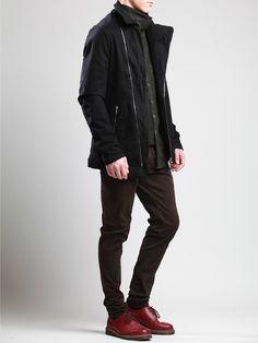 Jacket with Fleece by SYNGMAN CUCALA