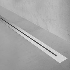 Linear shower drain | Nano | Stainless steel grate