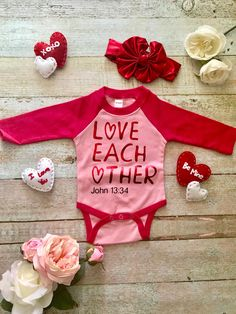 9098cd9e72c24 Baby Valentine Outfit and Bow - Valentine Bodysuit, Girl Valentine Outfit,  Baby Valentine Shirt, First Valentines Day, Baby Girl Bow, Baby