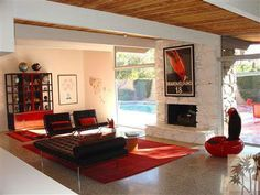 Dinah Shore's Palm Spring home by Donald Wexler