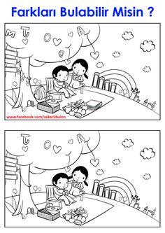 Printable Coloring Pages, Coloring Pages For Kids, Brain Games, Kindergarten Art, Kids Education, Boy Or Girl, Homeschool, Crafts For Kids, Two By Two
