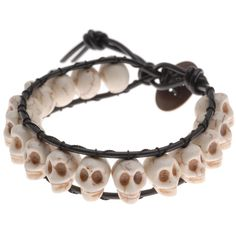 Tutorial - How to: The Ossuary Bracelet | Beadaholique    I just got this kit and I can't wait to give it a try!
