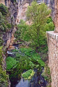 Río Escabas por el Estrecho de Priego