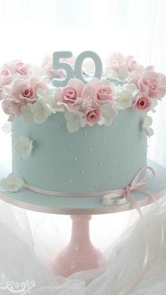 Resultado de imagem para Pretty Birthday Cakes For Women Birthday Cake 50, Pretty Birthday Cakes, Birthday Cakes For Women, Pretty Cakes, Beautiful Cakes, Birthday Cake For Women Elegant, Birthday Ideas, Female Birthday Cakes, Cakes For Ladies