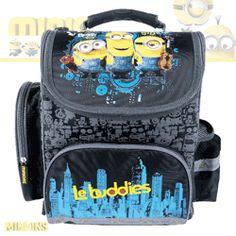 Ghiozdan anatomic ergonomic MINIONS incapator Minions, Lunch Box, Backpacks, Bags, Character, Handbags, The Minions, Bento Box, Backpack