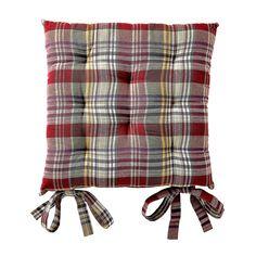 Galette de chaise scottish style #home #deco #blancheporte