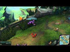 VJ Troll's game video: (단일 모드) 쉔 쉴드/도발 VS 소라카 힐 주유. (One for all) Shen Ag...