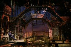 John Lee Beatty's Broadway set for TALLEY'S FOLLEY at The McCarter Theater.