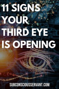 Is your third eye awakening? Is the invisible eye (Ajna chakra) which is located on the forehead opening up and turning you into this mystical universe? Here are 11 signs that your third eye is opening. Third Eye Awakening, Spiritual Awakening Stages, Spiritual Wisdom, Spiritual Growth, Opening Your Third Eye, Les Chakras, Awakening Quotes, Chakra Meditation, Third Eye Meditation