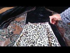 الدورة التعليمية للفصالة : طريقة فصالة سايا كلوش للقفطان في دقائق - YouTube