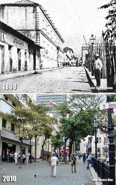 Esquina de Monjas a Principal (1868-2010)