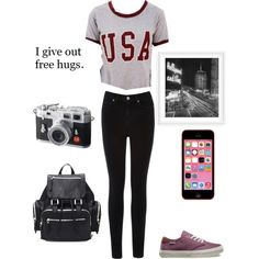 going out oufit ♡._. by loverofeverything8infinite on Polyvore featuring polyvore fashion style Oasis Vans Forever 21 Guide London