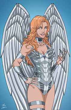 """""""The Silver Swan"""" sponsored by for Roysovitch's project. Concept/Design by Roy Westerman Character O. The Silver Swan commission Dc Comics Superheroes, Dc Comics Art, Comics Girls, Marvel Heroes, Marvel Dc, Marvel Comics, Superhero Characters, Dc Comics Characters, Women Villains"""