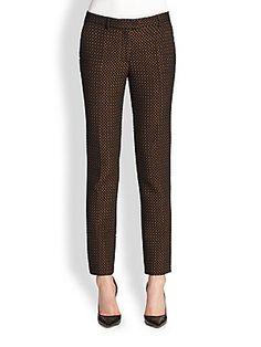 Etro Diamond Jacquard Pants