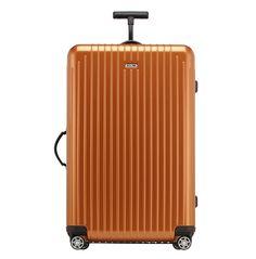 Havaalanında bir rockstar edasında dolaşmak için metalik Rimowa valizlerden bir tane alın. charals.com, 475 Dolar
