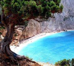 Amazing Places you Should Visit in Your Life -  Porto Katsiki, Lefkada Island, Greece