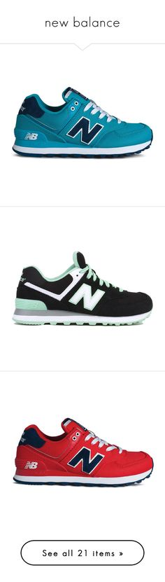 """new balance"" by curlprvncess ❤ liked on Polyvore featuring shoes, sneakers, обувь, tenis, new balance trainers, new balance shoes, laced shoes, lace up shoes, new balance sneakers and zapatillas"