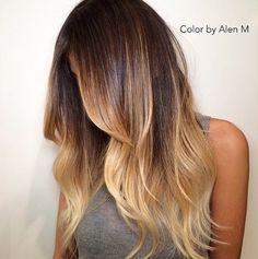 11 lang haar kapsels geverfd in ongelofelijk mooie kleuren!