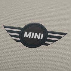 Mini Cooper logo embroidery design for instant download.  #EmbroideryDesign, #EmbroideryDownload, #EmbroideryMachine, #Embroiderylogos, #EmbroideryCarLogo, #EmbroideryMotor, #EmbroideryAutomobile