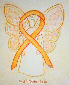 September is awareness month for Leukemia Create Awareness, Awareness Ribbons, Shaken Baby Syndrome, My Sweet Sister, Leukemia Awareness, Kidney Cancer, Types Of Cancers, Angel Art, Multiple Sclerosis