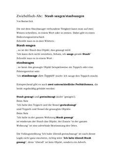 GEHEN mit Präfixen - Teil II Beispielsätze mit \