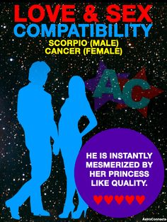 Cancer and scorpio sexual compatibility