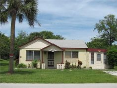Vero Beach Home For Sale Needs lots of work. Cute little kitchen but needs an island or something.