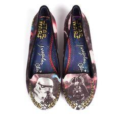 So menacing. So cute.   Star Wars Fans Will Start Hyperventilating Over These Amazing Shoes
