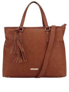 Hnedá kabelka so strapcom LYDC. TomsTom Shoes f3b448b910c