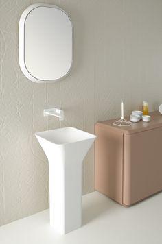 FLUENT Freestanding washbasin by INBANI design Arik Levy