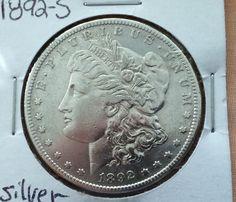 1892 s Morgan Silver Dollar   eBay