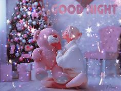 Angels are watching over you. Good Night Funny, Good Night Gif, Good Night Messages, Good Morning Gif, Good Night Image, Good Night Quotes, Morning Coffee, Animated Christmas Pictures, Very Nice Gif