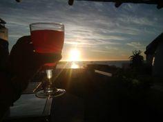 Beautiful Take A Breath, Sunsets, Alcoholic Drinks, Wine, Glass, Beautiful, Drinkware, Alcoholic Beverages, Corning Glass