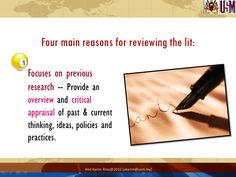 literature review help writing