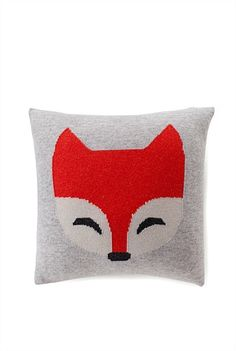 Wes Cushion - Cute Fox Cushion from Country Road Crochet Cushions, Scatter Cushions, Throw Pillows, Fox Nursery, Nursery Room, Boy Room, Nursery Ideas, Bedroom Ideas, Bedroom For Girls Kids