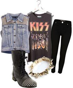 """Punk Rocker"" by van2016 on Polyvore"