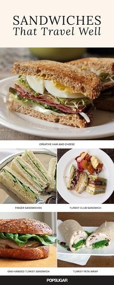10 Sandwiches That Travel Well
