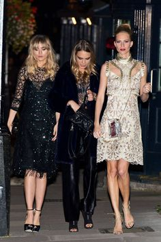 London Fashion Week Spring 2015  Everything about this picture is...