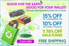 Just found this crazy coupon to save on some printer ink! So much cheaper than regular wth!