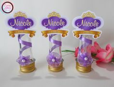 Tubete 3D Tema Princesa Sofia