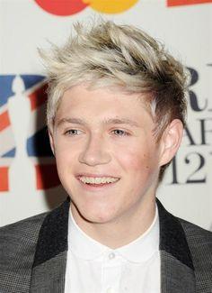 Niall Horan at the Brit Awards 2012