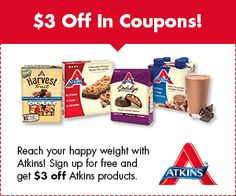 Free Atkins Kit + Free Shipping + NO Credit Card