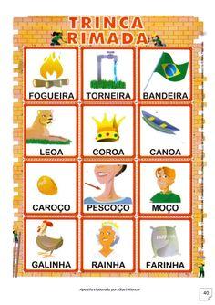 Five Senses Preschool, Internet E, Learn Brazilian Portuguese, Learn To Read, Professor, Literacy, Classroom, Teaching, Education