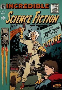 Regreso al Futuro - Como si fuera un comic de los años 50