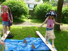 pirate girl birthday party