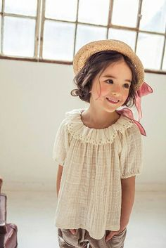 |#LouieTucker | Micca April Linen Blouse – Greenberry Kids