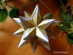 Origami ❉ Queen`s Crown ❉ Kusudama - YouTube
