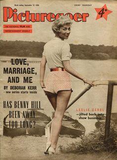 Picturegoer, September 1956. (Leslie Carol)