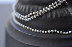 Lena Skadegard - Keshi-pearl necklaces and bracelets.